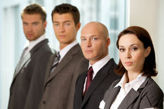 Portrait of business people Royalty Free Stock Photo