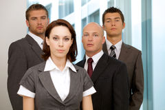 Portrait of business people Stock Photography