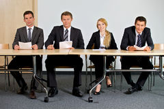 Portrait of business people Royalty Free Stock Image