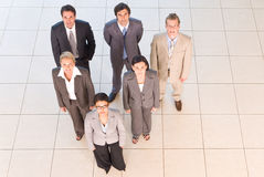 Portrait of business people Royalty Free Stock Photos