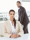 Portrait of business people in office Stock Image