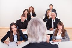 Portrait Of Business People Royalty Free Stock Images