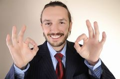 Portrait of  business person Royalty Free Stock Images