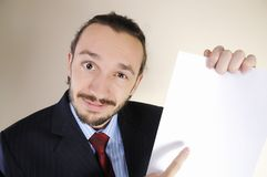Portrait of  business person Royalty Free Stock Photography