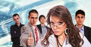 Portrait of a business team Stock Images