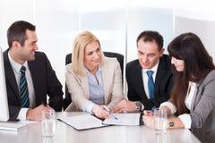 Portrait of business team Stock Photos