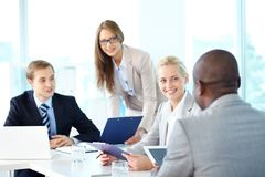 Discussion Stock Photography