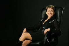 Portrait of the business woman Stock Image