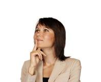 Portrait of a business woman Stock Photos