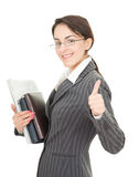 Portrait of a business woman Royalty Free Stock Image