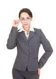 Portrait of a business woman Stock Photos