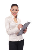A portrait of business woman Stock Images