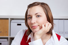 Portrait of business woman Royalty Free Stock Image