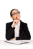 Portrait of business woman Royalty Free Stock Photos