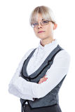Portrait of a business woman Royalty Free Stock Photos