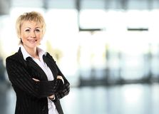 Portrait of a business woman Royalty Free Stock Photography