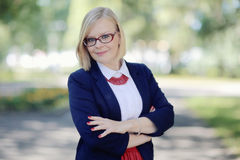 Portrait of a business woman Royalty Free Stock Photo