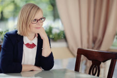 Portrait of a business woman Stock Images