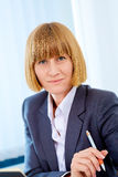 Portrait of business woman Royalty Free Stock Photography
