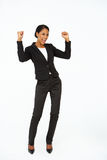 Portrait of business woman in suit Royalty Free Stock Photos