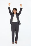 Portrait of business woman in suit Royalty Free Stock Image