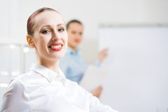 Portrait of a business woman Stock Image