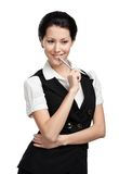 Portrait of business woman Royalty Free Stock Images