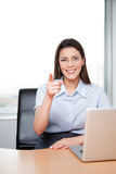 Portrait Of Business Wwoman Pointing At Viewer Royalty Free Stock Photo