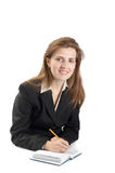 Portrait of businessewoman Royalty Free Stock Image