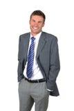 Portrait  businessman Stock Images