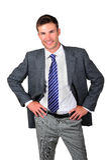 Portrait  businessman Royalty Free Stock Images