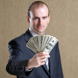 Portrait of businessman Royalty Free Stock Image