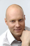 Portrait of businessman royalty free stock photos