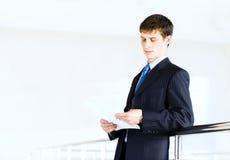 Portrait of a businessman Stock Photos