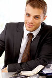 Portrait of Businessman Stock Images