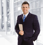 Portrait of businessman Stock Photography