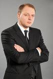 Portrait of a businessman with arms crossed Stock Photography
