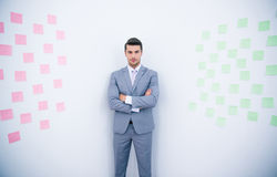 Portrait of a businessman with arms folded Royalty Free Stock Image