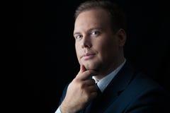 Portrait of businessman Stock Photography