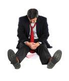 Portrait of Businessman In Despair Royalty Free Stock Photos