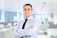 Portrait of a businessman Royalty Free Stock Image