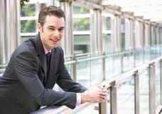 Portrait Of Businessman Outside Office Stock Image