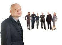 Portrait of businessman in suit Stock Images