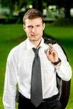 Portrait of a businessman Stock Image