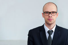 Portrait of businessman wearing glasses Royalty Free Stock Photography