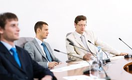 Portrait of a businessmen Stock Photography