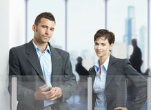 Portrait of businesspeople Royalty Free Stock Photography