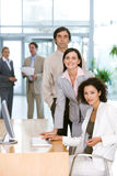 Portrait of businesspeople Stock Photo