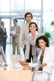 Portrait of businesspeople Stock Photo