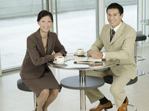 Portrait Of Businesspeople During Break Royalty Free Stock Photo